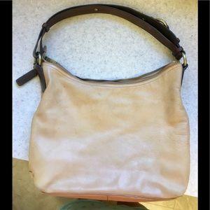 Gorgeous Cole Haan large soft leather satchel!